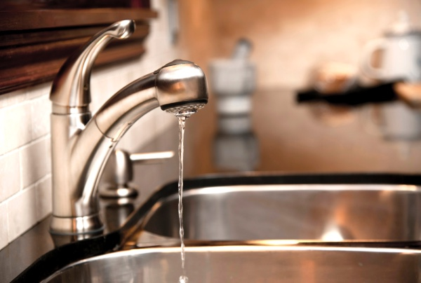 """A sink with dripping water."""""""